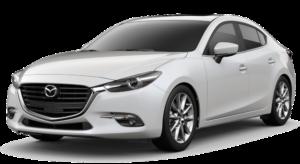Mietwagen Mazda 3 Automatik - Autovermietung Red Line Rent a Car La Palma.