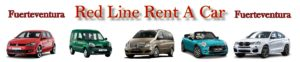 Mietwagen auf Fuerteventura. Autovermietung Red Line Rent a Car Fuerteventura.