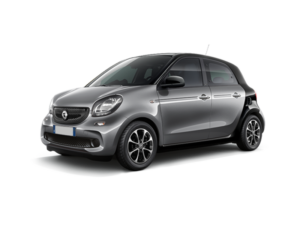 Smart Forfour Automatic - Red Line Rent a car Canary Islands