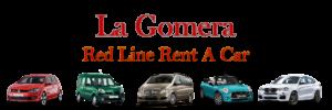 Red Line Rent a Car Banner La Gomera 2019