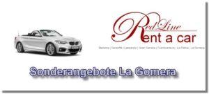 Mietwagen Sonderangebote - Autovermietung La Gomera
